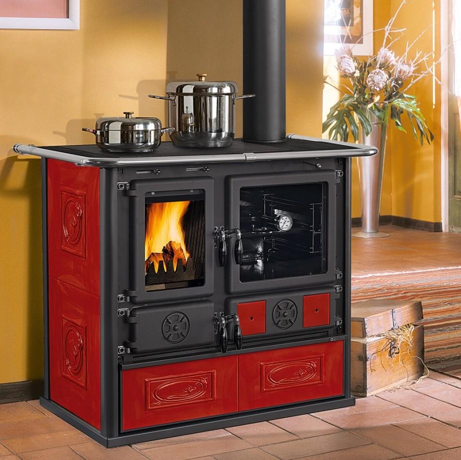 ecofiamma stufe a legna pellet e caminetti la nordica extraflame rosa liberty cucine a. Black Bedroom Furniture Sets. Home Design Ideas