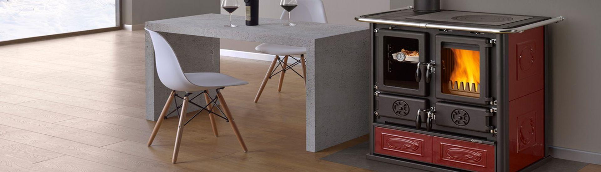 Ecofiamma stufe a legna pellet e caminetti cucine a legna - Cucine a pellet prezzi ...