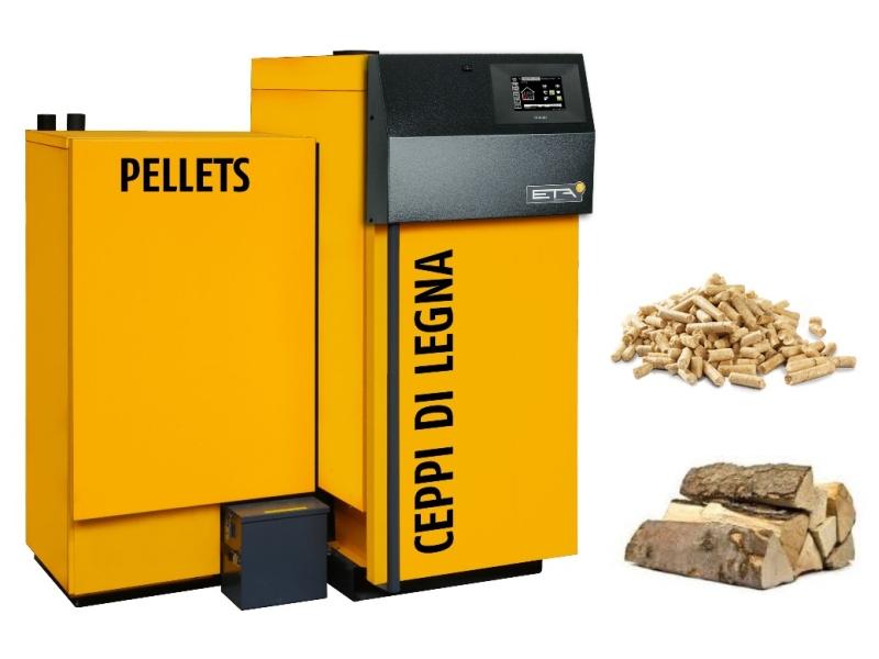 Ecofiamma stufe a legna pellet e caminetti eta for Eta caldaie legna
